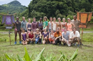 the cast of Survivor: Caramoan