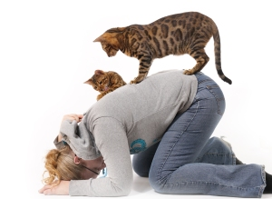 But if I did make out with a cat, this is what it would look like.