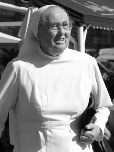 It was customary for Sister Maria Annunciate to eat Cheezits in bed every night.