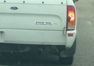 I couldn't find an image of that bumper sticker which was all over everywhere in 2004, but this one sums up my response quite nicely.
