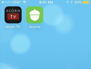 AcornTV:Acorns